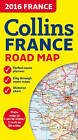 2016 Collins Map of France by Collins Maps (Sheet map, folded, 2015)