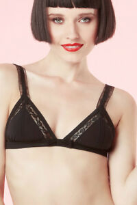 Chantal Nuovo € Black Bra Taglia 100 Whisper Thomass S Triangle etiq TFrwpTq