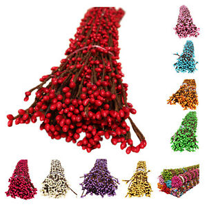 50-pcs-joli-PIP-Berry-Fleur-Garland-Etamine-de-Fleur-Mariee-Couronne-Pour-S3E2