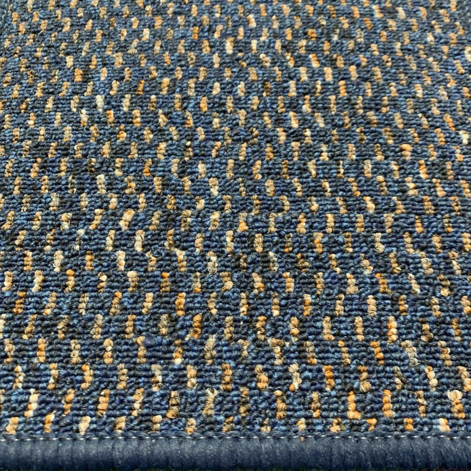 Alfombra de Cocina Azul doméstico oficina Rubin pesado resistente al desgaste .99 M 2