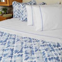 3 Piece Bedspread Comforter Matching Sham Set Key West Pattern Rv Camper