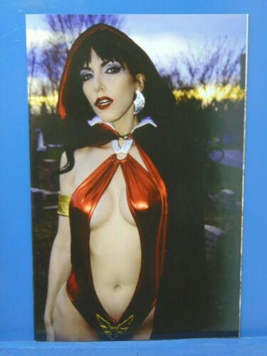 Vampirella vs Reanimator #2 Virgin Photo Variant  Dynamite Comics HP282