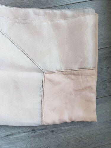 Vintage Giorgio Armani Salmon Pink Sheer/Semi shee