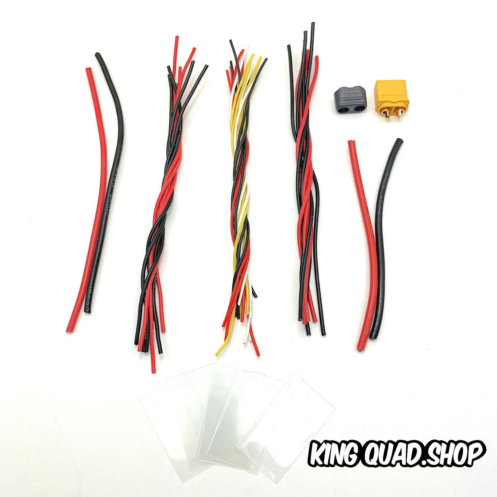 Quadcopter/Drone Build Cable Set For ESC & FC (KISS/Betaflight)