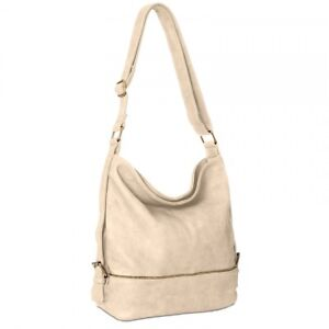 CASPAR-TS732-Damen-XL-Beutel-Tasche-Handtasche-Messenger-Bag-Umhangetasche-Gros