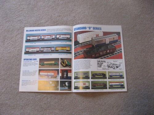 1973 LIONEL TRAINS CONSUMER CATALOG EXCELLENT
