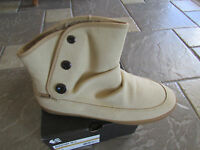 Etnies Nadine Tan Ankle Boots Shoe Boots Fleece Lined Womens 10