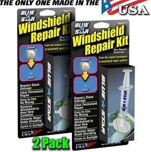 WINDSHIELD REPAIR KIT (2PACK)  MODEL # 777