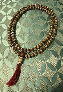 Ausgefallene-MALA-aus-Bodhibaum-Holz-aus-Nepal-mit-Mantra-OM-MANE-PADME-HUM
