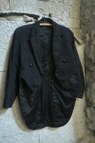 Antique Tailcoat Suit Clothing Evening Party Ball
