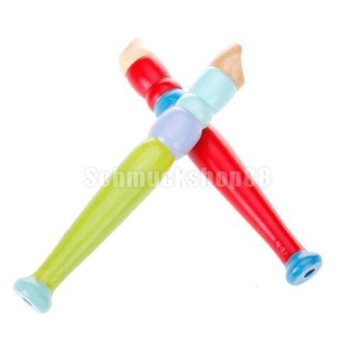 Kinder Flöte Hölzerne Kinderflöte Blockflöte Kinder Musik Spielzeug
