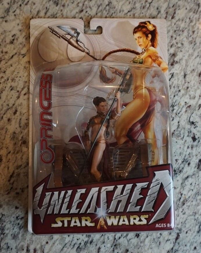 Princess Slave Leia 2004 STAR WARS Unleashed 7