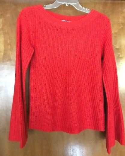 CALYPSO St. Barth Women's Red  Cashmere Paltina Sweater  X Small NWT MSRP