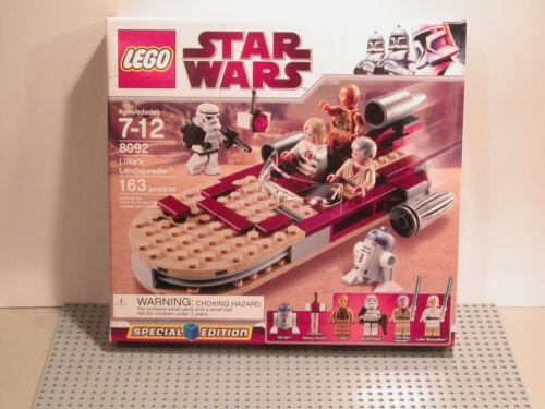 LEGO Star Wars 8092 Luke/'s Landspeeder NEW Sealed FAST FREE SHIPPING !