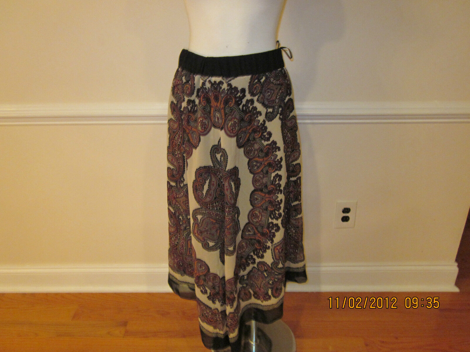 Boston proper grecian paisley skirt small  119.00 sold out