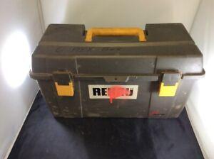 REHAU-EVERLOC-PADDED-TRAVEL-PLASTIC-CASE-TOOLBOX-TOOL-BOX