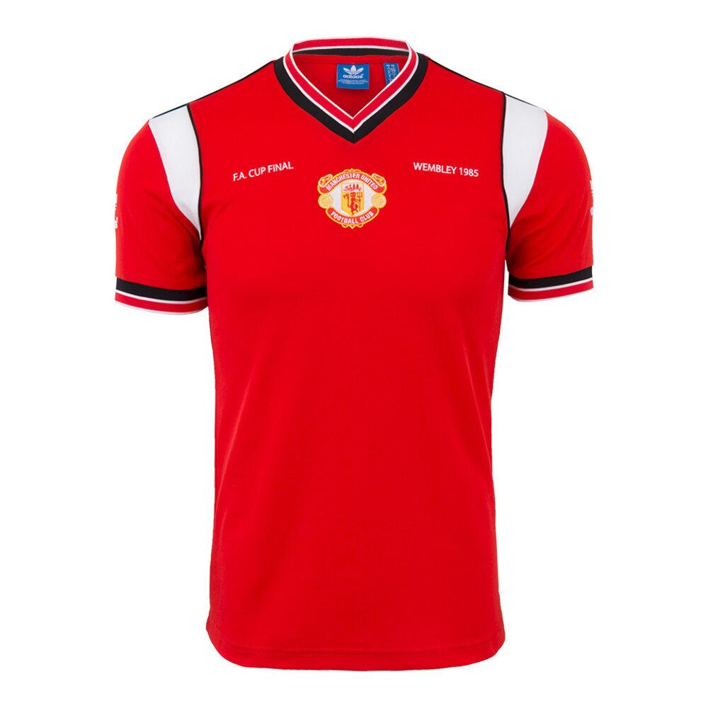 Adidas Manchester United Final Fa Copa Camiseta 1985