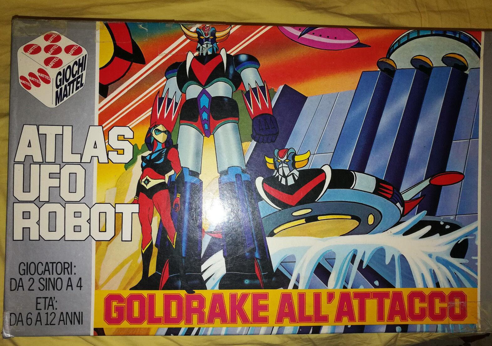 Atlas ufo - roboter Goldrake gioco in scatola mattel