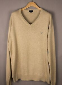 GANT-Men-Casual-Knit-Jumper-Sweater-Size-2XL-XXL-ATZ1107