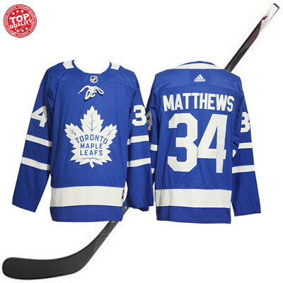 reputable site e373a d9724 Toronto Maple Leafs #34 2017-2018 Auston Matthews Blue Hockey Jersey | eBay