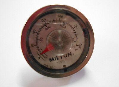 0-60 PSI Milton 1188 Gage 1//8 NPT