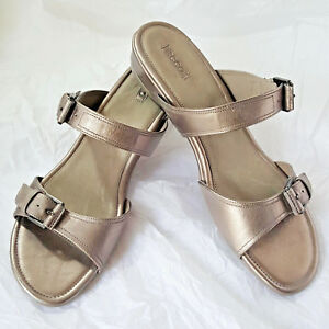 37f59299e2a Women s Shoes ECCO  Touch 25s  Slides Sandals Leather Size 11 US NIB ...