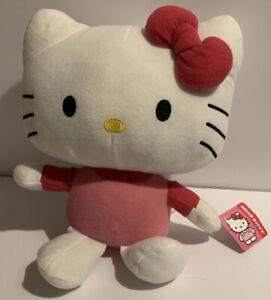 """Sanrio Hello Kitty 2013 Fiesta Plush 12"""" Kitty Cat Stuffed Animal NEW"""