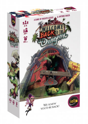 Welcome Back To The Dungeon Card Mini Game Games Iello Games IEL 51305 Micro