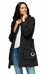 NEW-LADIES-TRENCH-COAT-BELTED-HIP-PARKA-JACKET-MAC-WOMENS-WINTER-SIZE-UK-12-18