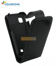 Etui Flip Rabattable CHIC CASE Noir pour SAMSUNG Wave 3 - S8600