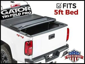 2005-2019 Nissan Frontier 5 FT American Tri-Fold Tonneau Bed Cover fits