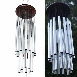 Deep-Resonant-Chapel-Church-Tubes-Bells-Wind-Chimes-Relaxing-Hanging-Decor-New