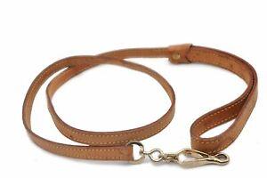 Authentic-Louis-Vuitton-Leather-leash-Baxter-Beige-LV-82887
