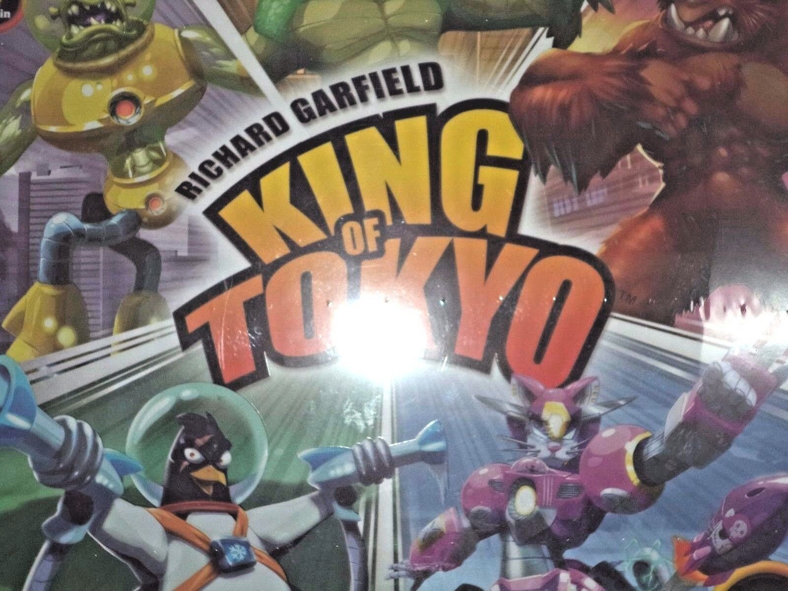 King of Tokyo - Iello Games Board Game Nuovo