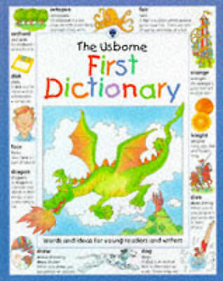 """1 of 1 - """"VERY GOOD"""" Usborne First Dictionary (Illustrated dictionaries), Wardley, Rachel"""