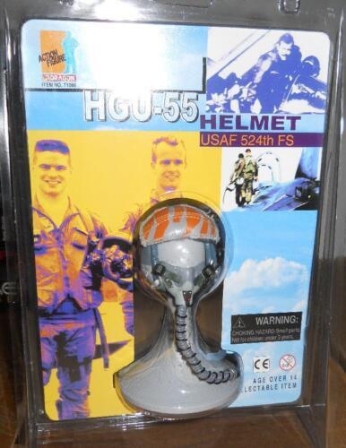 1//6 Dragon HGU-55 and HGU-68P Combat Edge US Fighter Pilot Helmet LOT of 4 MOC
