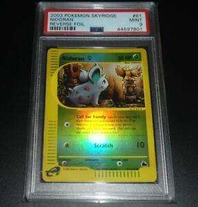 PSA-9-MINT-Nidoran-81-144-Skyridge-REVERSE-HOLO-Pokemon-Card