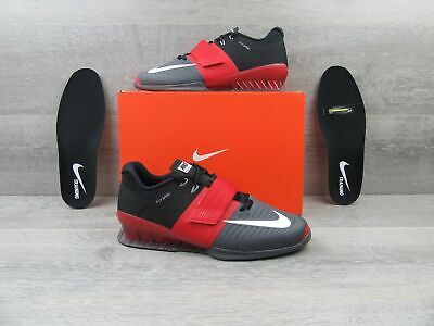Nike Romaleos 3 Men Weightlifting Shoe University RedDark