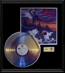 Image is loading DIO-RONNIE-JAMES-HOLY-DIVER-RARE-GOLD-RECORD-