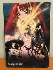 Aquarian-Age-Anime-DVD-Sign-For-Evolution-Complete-Series-Collection-3-Disc-Set