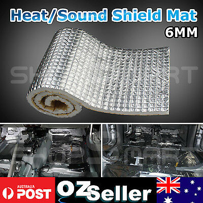 1M x 0.5M Automotive Heat Sheild Insulation Car Sound Deadener Noise Control DIY