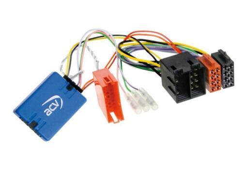 LFB adaptador volante control remoto JVC para Renault Trafic 2008-2013 con mini ISO