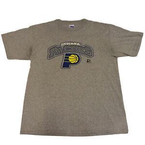 VTG-90s-Indiana-Pacers-T-Shirt-Men-s-XL-NBA-Basketball-Official-OG-Logo