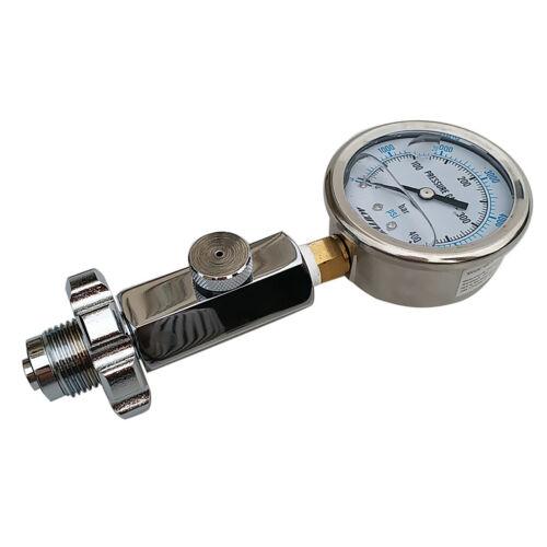 Tauchen Zubehör Manometer Tank Pressure Checker Prüfer 6 cm Durchmesser