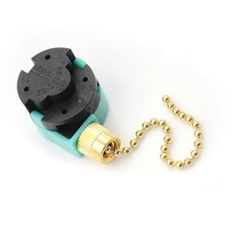 1pc Zing Ear Commutateur ZE-268S6 3 Vitesse Pull chaîne de commande en laiton