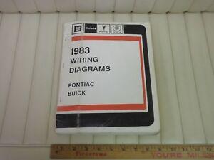1983-PONTIAC-BUICK-Car-Wiring-Electrical-Service-Manual-Original-CDN