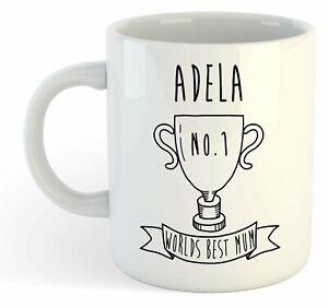 Adela - Monde Meilleure Maman Trophy Tasse - Pour Cadeau De Fête Des Mères , Wuqezuty-07235757-364691399