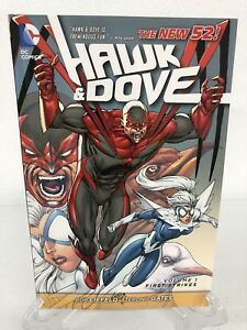 Hawk-amp-Dove-Volume-1-First-Strikes-Collects-1-8-DC-Comics-TPB-Paperback-New