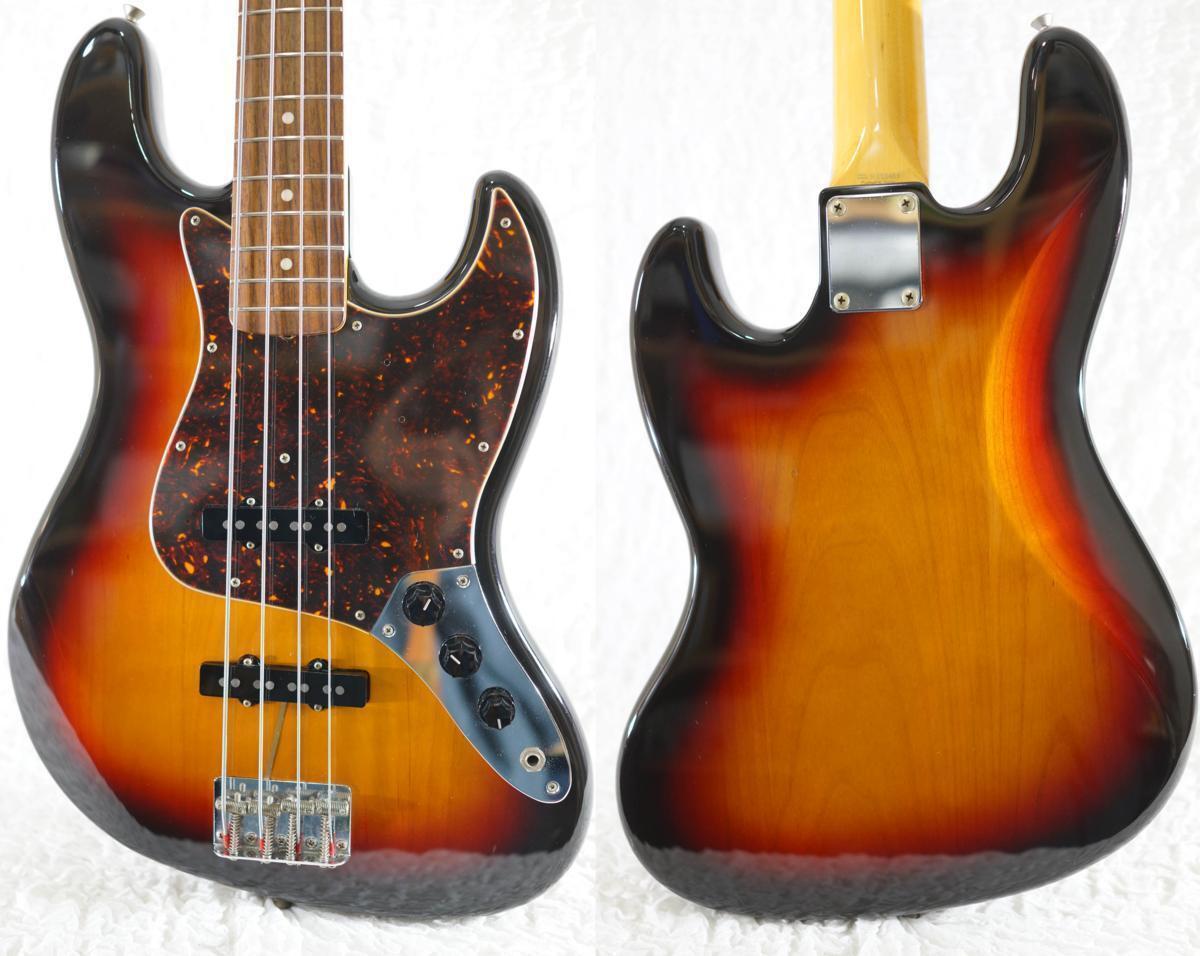 Fender Japan JB62-US JAZZ BASS 3TS 2004-2006 beautiful rare EMS F S