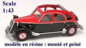 Citroen-Tract-039-2-ouverte-rouge-et-noire-STL-en-resine-Echelle-1-43